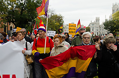 20151122 Demonstration defending the Spanish Historical Memory in Madrid