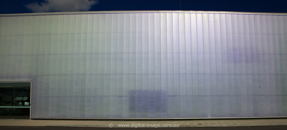 External wall of the NCSS, shot specifically for use as a design element in a report