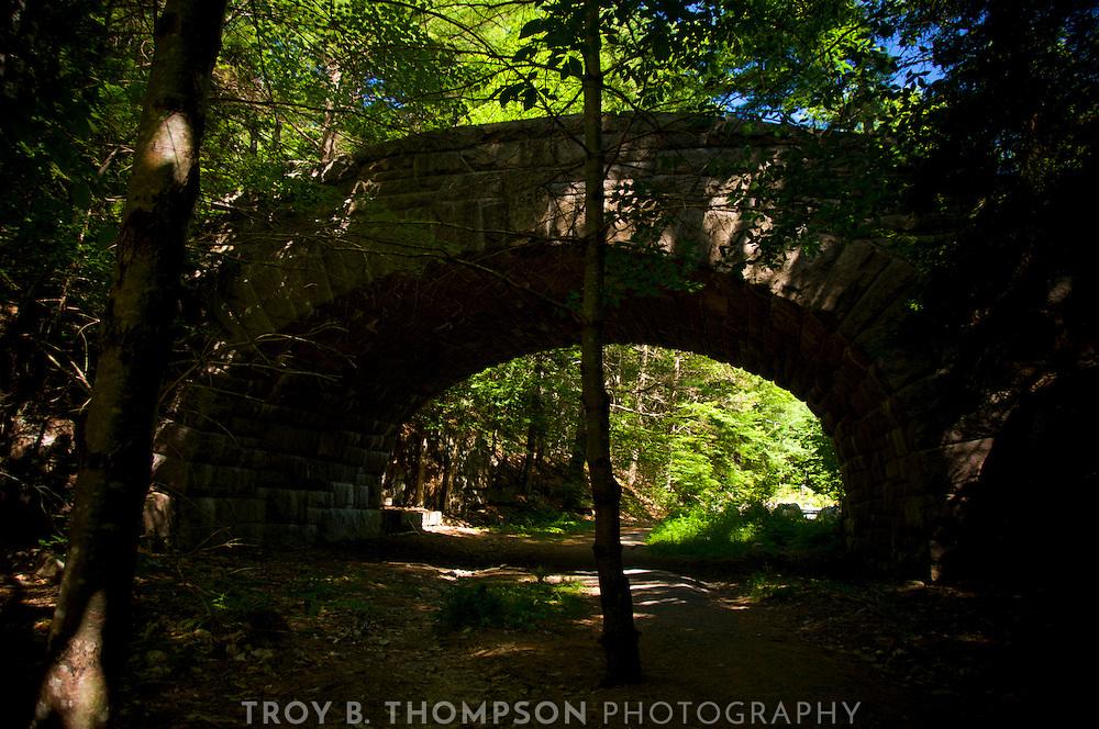 Bubble Pond Bridge.Carriage Road 7/17