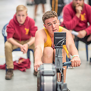 Joshua Henderson MALE HEAVYWEIGHT U16 1K Race #14  12:30pm<br /> <br /> www.rowingcelebration.com Competing on Concept 2 ergometers at the 2018 NZ Indoor Rowing Championships. Avanti Drome, Cambridge,  Saturday 24 November 2018 © Copyright photo Steve McArthur / @RowingCelebration