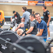 8:20 AM- Concept2 #1- Men?s 2000m Masters A, B, C, Novice2<br /> <br /> NZ Indoor Champs, raced at Avanti Drome, Cambridge, New Zealand, Saturday 23rd November 2019 © Copyright Steve McArthur / @rowingcelebration www.rowingcelebration.com