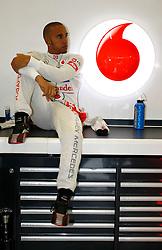 Motorsports: FIA Formula One World Championship 2012, Grand Prix of Great Britain, .#4 Lewis Hamilton (GBR, Vodafone McLaren Mercedes),