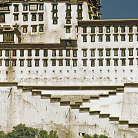 The Potala, former abode of the exiled Dalai Lama.