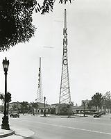 KMPC Radio on Wilshire Blvd. in Beverly Hills