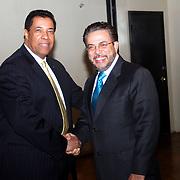 Marcos Dever y Guillermo Moreno