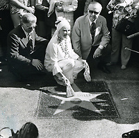 1975 Phyllis Diller's Walk of Fame ceremony