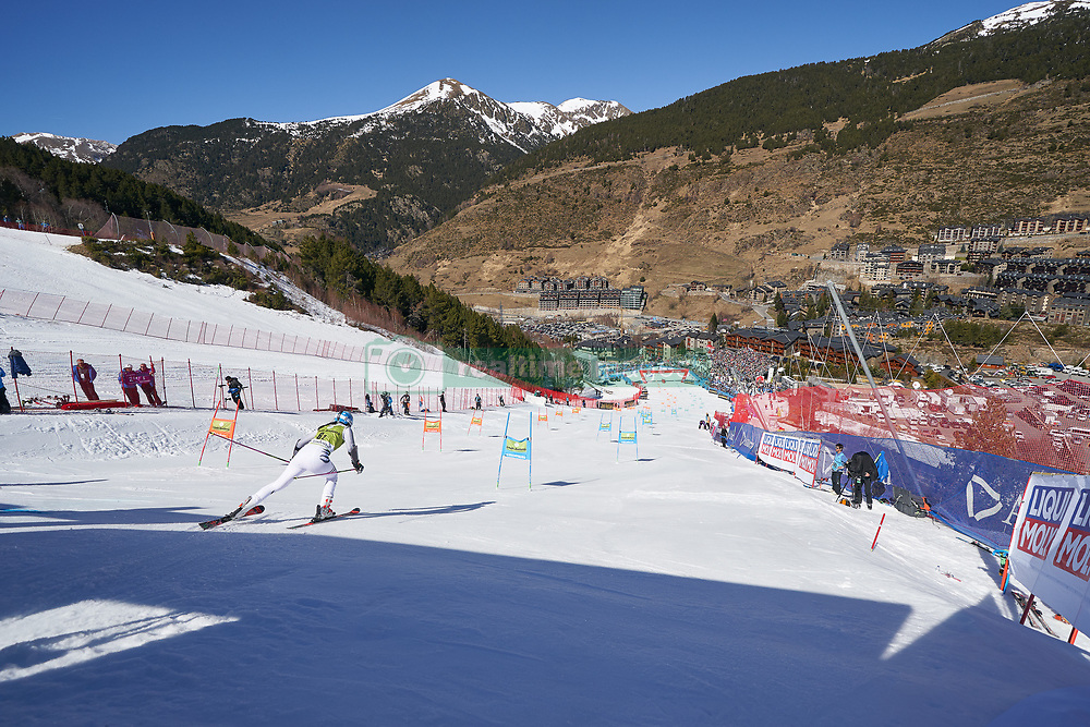 March 15, 2019 - Andorra - Christina GEIGER during of the Alpine Team's race, Audi Fis Alpine Ski World Cup, Finals Round, on March 15, 2019 in Soldeu - El Tarter, Andorra (Credit Image: © AFP7 via ZUMA Wire)