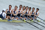 Amsterdam, HOLLAND, GBR M8+, bow, Tom PARKER, Tom STALLARD, Tom LUCY, Hugo LEE, Josh WEST, Rick EGINGTON, Robin BOURNE-TAYLOR, Alistair HEARTCOTE and Acer NETHERCOTT, move away from the start of the heat of the women's eights, at the 2007 FISA World Cup Rd 2 at the Bosbaan Regatta Rowing Course. [Date] [Mandatory Credit: Peter Spurrier/Intersport-images]..... , Rowing Course: Bosbaan Rowing Course, Amsterdam, NETHERLANDS