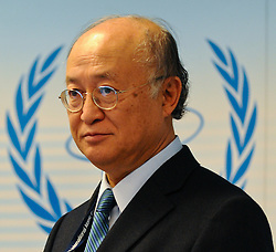 15.03.2011, IAEA, Wien, AUT, Pressekonferenz zur aktuellen Lage in Japan, im Bild IAEA Director General Yukiya Amano // IAEA General Director Yukiya Amano during Press conference about the current situation in Japan, EXPA Pictures © 2011, PhotoCredit: EXPA/ M. Gruber