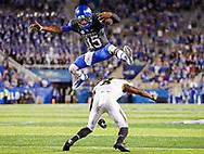 Stephen Johnson.<br /> <br /> The University of Kentucky football team beat Missouri 40-34 on Saturday, October 8, 2017, at Kroger Field in Lexington, Ky.<br /> <br /> <br /> Photo by Elliott Hess   UK Athletics