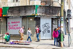 Tags On Buildings & Broken Signs, Valparaiso