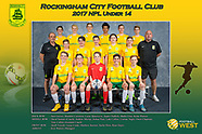 Rockingham City FC Team Photos 2017