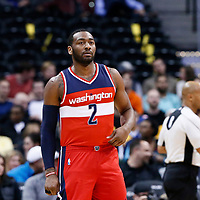 08 March 2017: Washington Wizards guard John Wall (2) is seen during the Washington Wizards 123-113 victory over the Denver Nuggets, at the Pepsi Center, Denver, Colorado, USA.