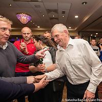 Pat Breen congratulates Joe Cooney
