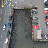 Inlet in Kinsale town car park.<br /> Picture. John Allen