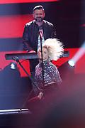 Auftritt von Beatrice Egli bei der «Silvestershow 2019» mit Jörg Pilawa & Francine Jordi in der Baden-Arena, Messe Offenburg