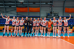 netherlands win 3-1 against Brazil and take the first place in pool A during Brazil - Netherlands, FIVB U20 Women's World Championship on July 11, 2021 in Rotterdam