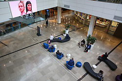 © Licensed to London News Pictures. 15/03/2020. London, UK. Empty Westfield Stratford shopping city amid an increased number of coronavirus (COVID-19) cases in the UK. 21coronavirus victims have died and 820 cases have tested positive of the virus in the UK of which 167 in London. Photo credit: Dinendra Haria/LNP