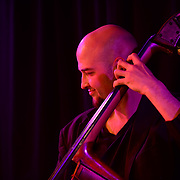 Bassist and PMAC faculty member Nathan Therrien performs in Jazz Night 2013 at The Loft in Portsmouth, NH