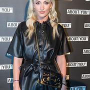 NLD/Amsterdam/20171009 - opening webshop About You, Noor de Groot van fashionblog Queen of Jet Lags