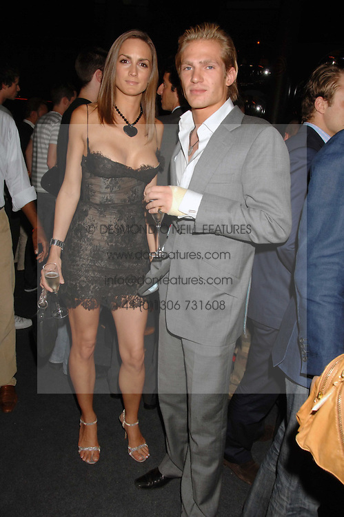 SHELLEY ROSS and JACOBI ANSTRUTHER-GOUGH-CALTHORPE at a party to celebrate the launch of the new Fiat Bravo held at The Roundhouse Theatre, Chalk Farm Road, London on 13th June 2007.<br /><br />NON EXCLUSIVE - WORLD RIGHTS
