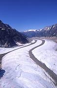 Chilkat Glacier, Skagway, S. E. Alaska<br />