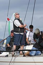 Peelport Clydeport Largs Regatta Week 2013 <br /> <br /> Ian Hurrel<br /> <br /> <br /> Largs Sailing Club, Largs Yacht Haven, Scottish Sailing Institute
