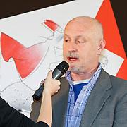 NLD/Amsterdam/20111114 - Presentatie Sinterklaasboeken Douwe Egberts & C1000, Arjan Ederveen