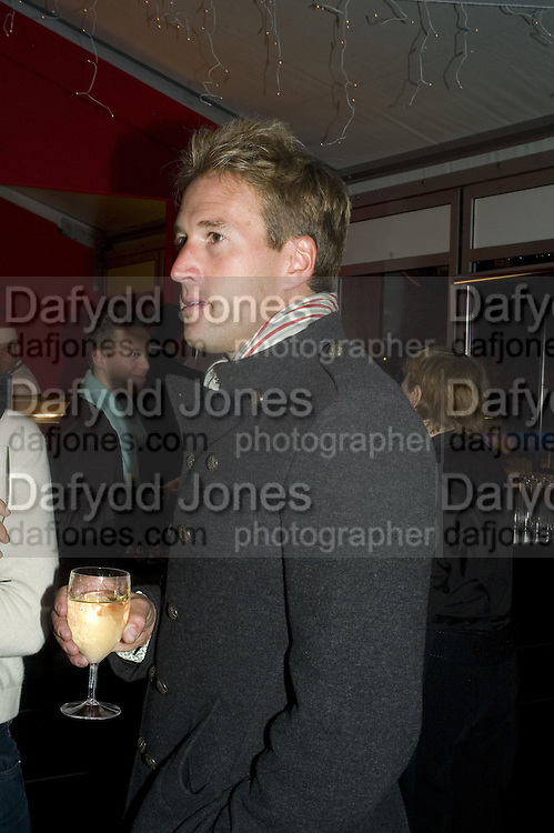 BEN FOGLE, Winter party hosted by the Somerset House Trust and Tiffany's. To celebrate the opening of the Ice Rink at Somerset House. 20 November 2007. -DO NOT ARCHIVE-© Copyright Photograph by Dafydd Jones. 248 Clapham Rd. London SW9 0PZ. Tel 0207 820 0771. www.dafjones.com.