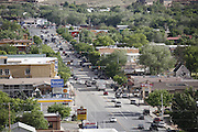 SHOT 5/7/16 5:55:37 PM - Moab is a city in Grand County, in eastern Utah, in the western United States. Moab attracts a large number of tourists every year, mostly visitors to the nearby Arches and Canyonlands National Parks. The town is a popular base for mountain bikers and motorized offload enthusiasts who ride the extensive network of trails in the area. Includes images of Scenic Byway 128, Fisher Towers and downtown Moab. (Photo by Marc Piscotty / © 2016)