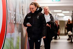 Ebony Salmon of Bristol City arrives at Stoke Gifford Stadium prior to kick off - Mandatory by-line: Ryan Hiscott/JMP - 17/02/2020 - FOOTBALL - Stoke Gifford Stadium - Bristol, England - Bristol City Women v Everton Women - Women's FA Cup fifth round