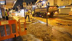 London Road Burst Water Main