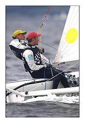 470 Class European Championships Largs - Day 4.CRO83, Sime FANTELA, Igor MARENIC