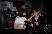 Sophie Ellis-Bextor and Richard Jones Dom Perignon and Claudia Schiffer host a celebration of Dom Perignon Oenotheque 1995. The Landau, Portland Place. London W1. 26 February 2008.  *** Local Caption *** -DO NOT ARCHIVE-© Copyright Photograph by Dafydd Jones. 248 Clapham Rd. London SW9 0PZ. Tel 0207 820 0771. www.dafjones.com.