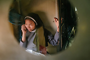 A Christian nun from Assam returns home.<br /> Inside the Dibrugarh-Kanyakumari Vivek Express, the longest train route in the Indian Subcontinent. It joins Kanyakumari, Tamil Nadu, which is the southernmost tip of mainland India to Dibrugarh in Assam province, near the border with Burma.