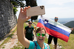 The fans during the 4th Stage of 27th Tour of Slovenia 2021 cycling race between Ajdovscina and Nova Gorica (164,1 km), on June 12, 2021 in Slovenia. Photo by Matic Klansek Velej / Sportida