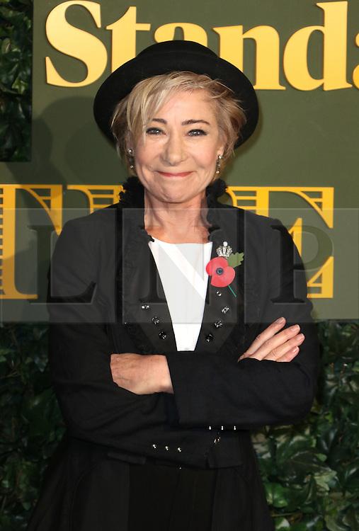 © Licensed to London News Pictures. 13/11/2016. London, UK, Zoe Wanamaker, Evening Standard Theatre Awards, Photo credit: Richard Goldschmidt/LNP