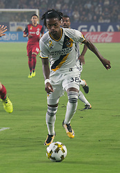 September 16, 2017 - Carson, California, U.S - Bradford Jamieson #38  of the L.A. Galaxy with the ball during their game with Toronto FC on Saturday September 16, 2017 at StubHub Center in Carson, California. L.A. Galaxy loses to Toronto FC, 4-0. (Credit Image: © Prensa Internacional via ZUMA Wire)