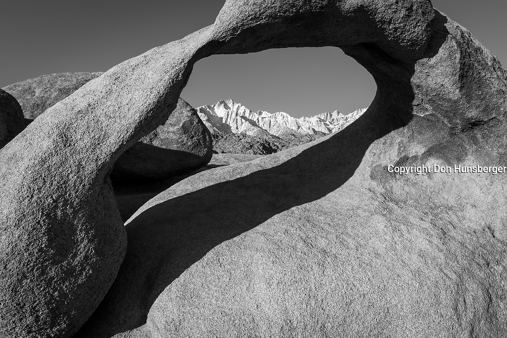 Mobius arch, Mt Whitney