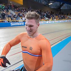 28-02-2018: Wielrennen: WK Baan: Apeldoorn<br />Jeffrey Hoogland