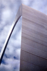 Gateway Arch, St. Louis Zoo Note: This image was originally produced on film and scanned to produce a digital file.  Some dust may be visible from that scan