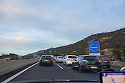 Massive queues crossing Spain-France Border following controls put in place after November Paris attacks.