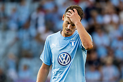 August 1, 2018 - MalmÅ, Sweden - 180801 Markus Rosenberg of MalmÅ¡ FF looks dejected during the UEFA Champions League qualifying match between MalmÅ¡ FF and Cluj on August 1, 2018 in MalmÅ¡..Photo: Ludvig Thunman / BILDBYRN / kod LT / 35511 (Credit Image: © Ludvig Thunman/Bildbyran via ZUMA Press)