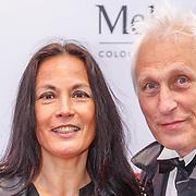 NLD/Amsterdam20150518 - Premiere De Surprise, Marion Bloem en partner Ivan Wolffers