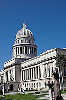 The stunning El Capitolio building in Havana is a stunning landmark.
