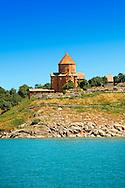 10th century Armenian Orthodox Cathedral of the Holy Cross on Akdamar Island, Lake Van Turkey 68