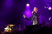 """Auftritt von Julian David beim Open Air-Festival """"Der Berg bebt!"""" vom 15.07.2017 auf dem Plaun Grond, Flims."""