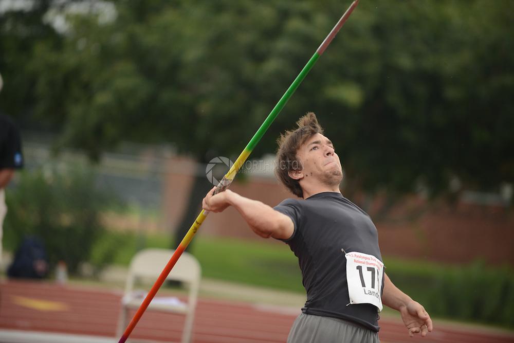 175 Hagan Landry 2013 Paralympic Track & Field Trials in San Antonio, Texas.