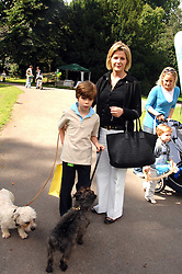 VISCOUNTESS LINLEY and her son CHARLES  at Macmillan Dog Day in aid of Macmillan Cancer Support, held at Royal Hospital Chelsea, London on 3rd July 2007.<br /><br />NON EXCLUSIVE - WORLD RIGHTS