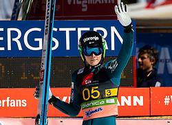 Domen Prevc (SLO) reacts during the Ski Flying Hill Team Competition at Day 3 of FIS Ski Jumping World Cup Final 2019, on March 23, 2019 in Planica, Slovenia. Photo by Vid Ponikvar / Sportida